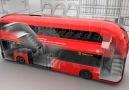 Londra için tasarlanan otobüsler