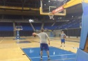 Look at this trick shot by Bryce Alford!!