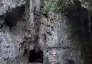 Mağara manzaralı yolculuk...