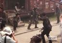 Making of Episode 5x01 - The Walking Dead.