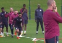 Manchester City first team agility and finishing drill
