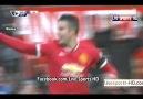 Manchester United 1-0 Leicester City Van persie
