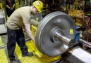 manufacturing process of train wheel