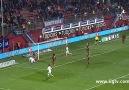 Mario Gomezin Trabzonspor deplasmanında attığı kritik gol.