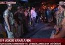 Marmaris'te vatandaşlardan darbeci askerlere tepki