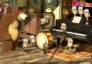 Maşa ile Koca Ayı 2. Bölüm Türkçe (Piyano Dersi)