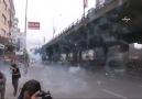 Mecidiyeköy'den Taksim'e çıkmak isteyenlere saldırı