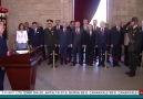 Meclis Başkanı Yıldırım Anıtkabiri ziyaret etti
