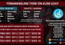MHP'DEN TÜRKMENELİ'NE YARDIM KAMPANYASI