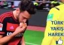 Milli futbolcumuzdan Almanlara ekmek dersi!
