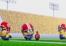 Minions Playing Football