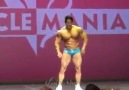 Mitico Chul - Musclemania posing