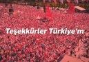 Muharrem İNCE - Teşekkürler Türkiye& Facebook