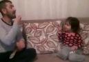 Müthiş baba kız atışması