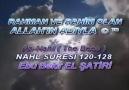 Nahl Suresi [120-128] Ayet Türkçe Meali