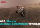 NASA Marsın panoramik görüntüsünü yayınladı.