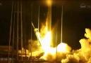 NASA'nın roketi infilak etti