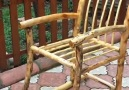 Natural rocking chair construction from wood.Credit Cemal Açar