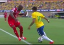 Neymar Jr.. Amazing Panna vs Panama