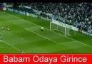 NORMALDE FUTBOL-BABAM ORAYA GİRİNCE FUTBOL.