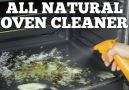 No-scrub oven cleaning trick