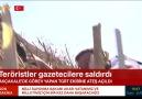 NTV - Akçakale&görev yapan TGRT ekibine saldırı anı kamerada Facebook