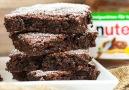 Nutella Brownies von CookBakery HIER ZUM REZEPT --