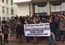 ODTÜlüler topluluk kapatmalara ve etkinlik yasaklarına karşı yürüdü