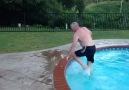 Old man dive