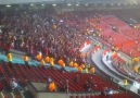 Old Trafford'da Galatasaray taraftarları