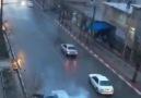 OMG!!! Lightning Strikes Moving Car