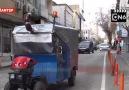 ON6 - Gaziantep sokaklarında bir garip araç... Facebook
