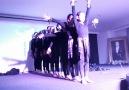 Ortaokul öğrencilerimizin jimnastik gösterisi