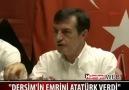 Osman Pamukoğlu: Dersim'in Emrini Atatürk Verdi