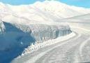 Ovacık ta kar böyle yağar