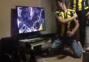 Ozanın kaçırdığı golden sonra bir Fenerbahçe taraftarı