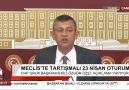 Özgür Özel Erdoğan&cevap verdi &de tankın üstüne sen çıksaydın&