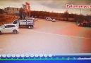 Palu&Trafik Kazası3 YaralıKaza Anı Anbean Kameralara Yansıdı