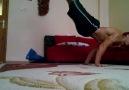 Planche arkadan alkış deneme