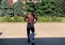 Playing basketball and dance in the sun like butterfly
