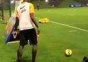 Pogba Amazing Curve Goal at Training