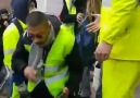 Police violence towards Yellow Vest protests in France.