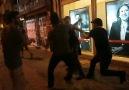 Polisin vatandaşlara konuşması ve müdahalesi!