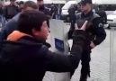 polislere haykırıyor çocuk katiller