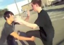 Probably the most awkward street fight ever