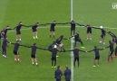 PSG Barcelona maçına hazırlanıyor.