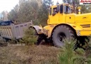 Pulling out the stuck truck
