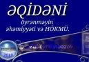qidni öyrnmyin hmiyyti v hökmü Zubeyr Dinbazov Yeni kitab müqddim