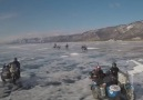 Race across the worlds largest frozen lake.