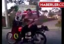 Rahatına düşkün motorcu